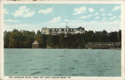 The Lakeside Hotel from the Lake