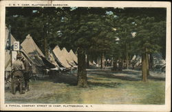 C.M.T. Camp, Plattsburgh Barracks.