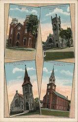 Malone, New York Churches