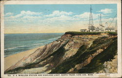 US Wireless Station and Highland Light, North Truro