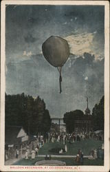 Balloon Ascension, Celoron Park