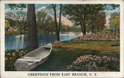 Greetings From East Branch, N.Y.