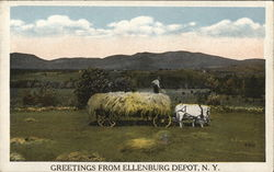 Greetings From Ellenburg Depot, N.Y.