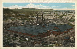 Westinghouse Air Brake Co. Works Near Pittsburgh