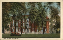View of Knox College