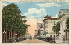 First Street Showing St. James Hotel