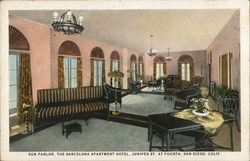 Sun Parlor, The Barcelona Apartment Hotel, Juniper St. at Fourth