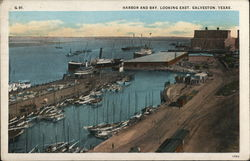 Harbor and Bay, Looking East Postcard