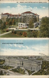 Annex and Bird's Eye View of Sanitarium