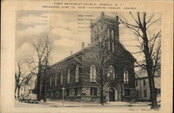 First Methodist Churchdf Postcard