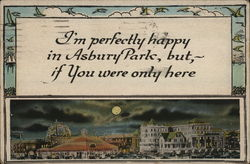I'm Perfectly Happy in Asbury Park