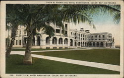 Front View, Hotel Washington