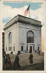 National Exchange Bank Postcard