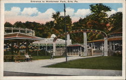 Entrance to Waldameer Park