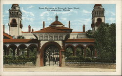 Front Entrance to Ponce de Leon Hotel