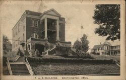 View of T.A.B. Building Postcard