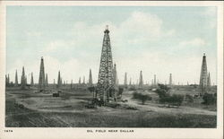 Oil Field Near Dallas