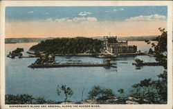 Bannerman's Island and Arsenal, along the Hudson River.