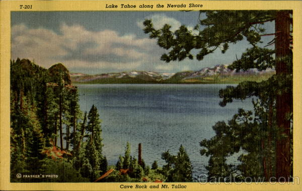 Lake Tahoe Along The Nevada Shore