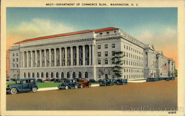 Department Of Commerce Bldg Washington District of Columbia