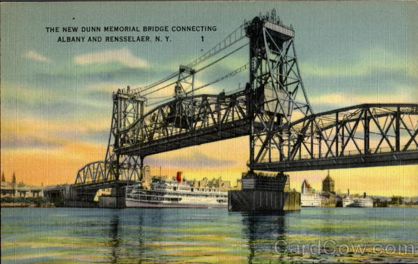 The New Dunn Memorial Bridge Albany New York