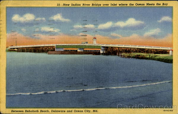 New Indian River Bridge Ocean City Maryland