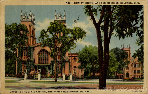 Trinity Church And Parish House Columbia South Carolina