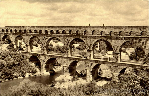 The Pont Du Gard Nimes France
