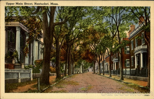 Upper Main Street Nantucket Massachusetts