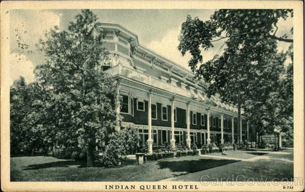 Indian Queen Hotel Stroudsburg Pennsylvania