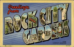 Greetings From Rock City Gardens Lookout Mountain