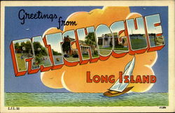 Greetings From Patchogue Postcard