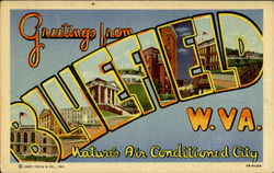 Greetings From Bluefield Postcard