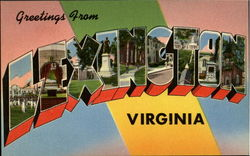 Greetings From Lexington Postcard