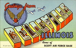Greetings From Belleville - Scott Air Force Base