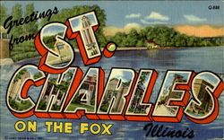 Greetings From St. Charles On The Fox