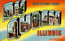 Greetings From Du Quoin