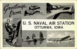 Greetings From U. S. Naval Air Station