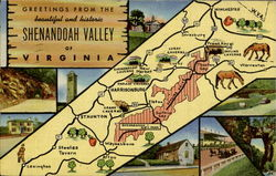 Greetings From The Beautiful And Historic Shenandoah Valley