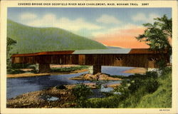 Covered Bridge Over Deerfield River