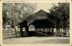 The Covered Bridge At Jackson