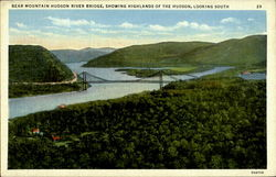 Bear Mountain Hudson River Bridge