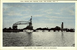Coal Docks And Fishing Tugs