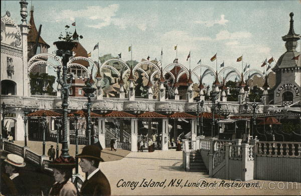 Luna Park Restaurant Coney Island New York