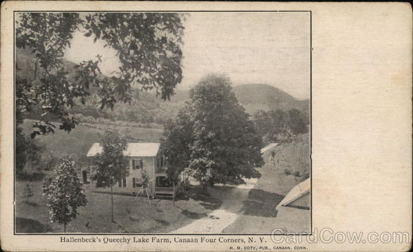 Hallenbeck's Queechy Lake Farm, Canaan Four Corners New York