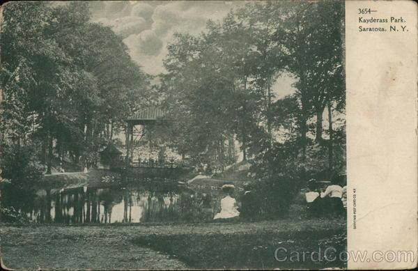Kayderass Park Saratoga New York