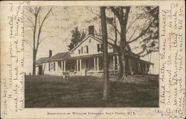 Residence of William Eirdsall Salt Point New York