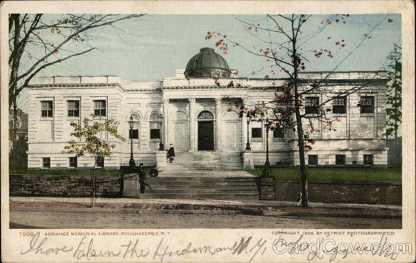 Advance Memorial Library Poughkeepsie New York