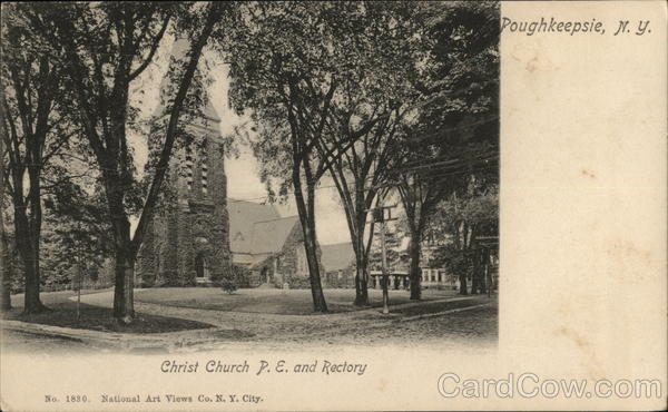 Christ Church P.E. and Rectory Poughkeepsie New York