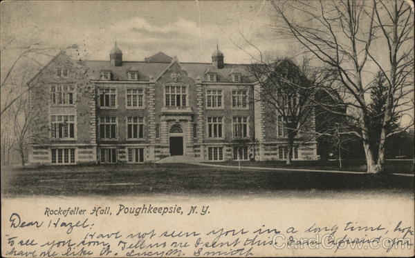 Rockefeller Hall Poughkeepsie New York